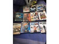 PlayStation 2 with 1 controller and lots of games