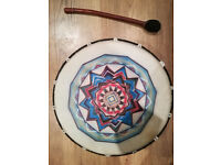 native american style drum £40