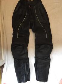 Gericke Ladies Leather Motorcycle Trousers