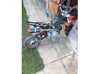120 stomp engine Spares or repairs pitbike