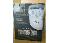 Tommee Tippee Closer to Nature White Electric Steriliser