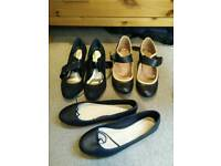 Flats and heels size 8