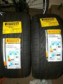 Pirelli pzero Nero tyres 225/40 ZR 18 brand new x 2