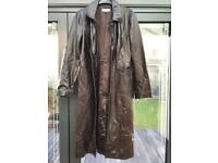 Monsoon brown leather jacket