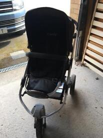 Icandy pushchair with car seat adaptors