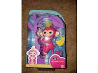 Genuine WowWee Fingerling the pink one named Bella. Brand new.