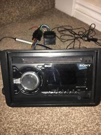 Sony car radio WX-900BT