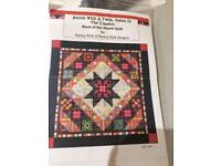 12 block patchwork quilt - block of the month