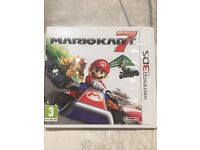 3ds Mario Kart 7 game
