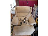 Rising recliner electric chair