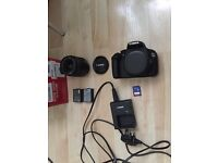 Im selling a canon 1200d camera practically brand new got the original box