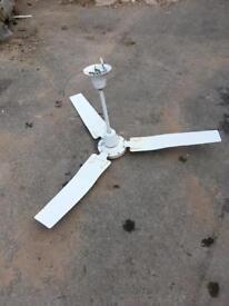 Large cieling fans x5
