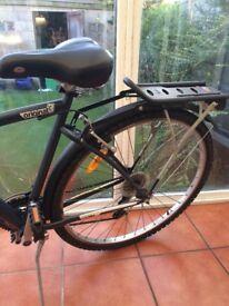 B-twin adults push bike(practically brand new)