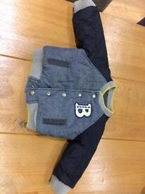 Baby boy Ted Baker coat 3-6 months.