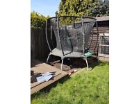 8ft tp toys genius octagonal2 trampoline