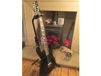 Ibanez Gio GRG170DX electric guitar ( black ) HSH pick-ups. 2005.