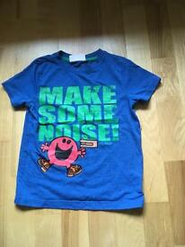 Mr Noisy T shirt age 4-5