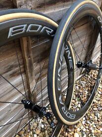 Campagnolo Bora carbon clincher wheels
