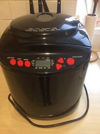 Bread maker used once all instructions included immaculate