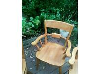 Set of 4 Carvery Chairs