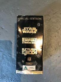Limited edition videos STAR WARS