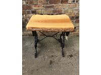 Cast iron table base | Stuff for Sale - Gumtree