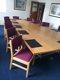 4 Metre Boardroom Table