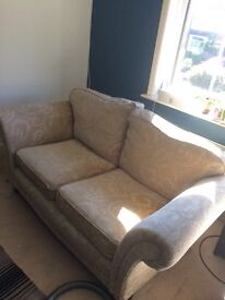3 piece suit, sofa,armchair,pouffe/footstool