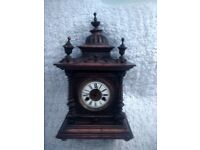 W.E. Watts, 'Greenwich' Clock (Dated 1886 Approximately)