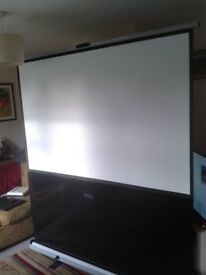 Screen - Large Freestanding Projector Screen Brand New
