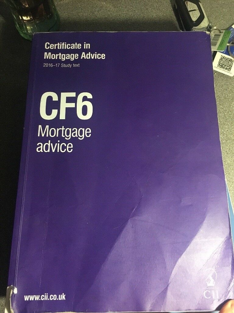 CII CF6 mortgage advice study text 2016/17
