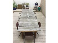 Large Rustic Outdoor Table