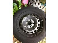Vw caddy steel wheels 15inch