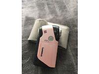 Luminex pink video camera
