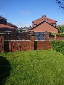Garden rails, gates and pillar tops
