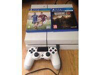 Ps4 with games and controller 500gb
