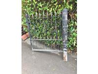 Pair of wrought iron gates
