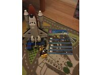 Lego sets, various prices £20-45. Space Shuttle, cargo truck, tow truck, plane, car transporter