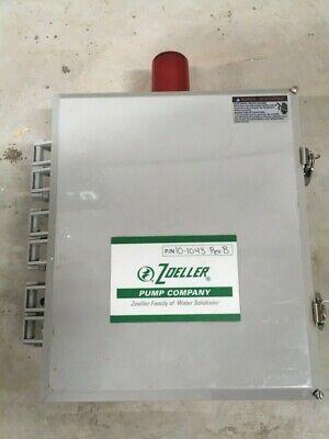 Zoeller 10-1043 Rev-b Pump Control Panel