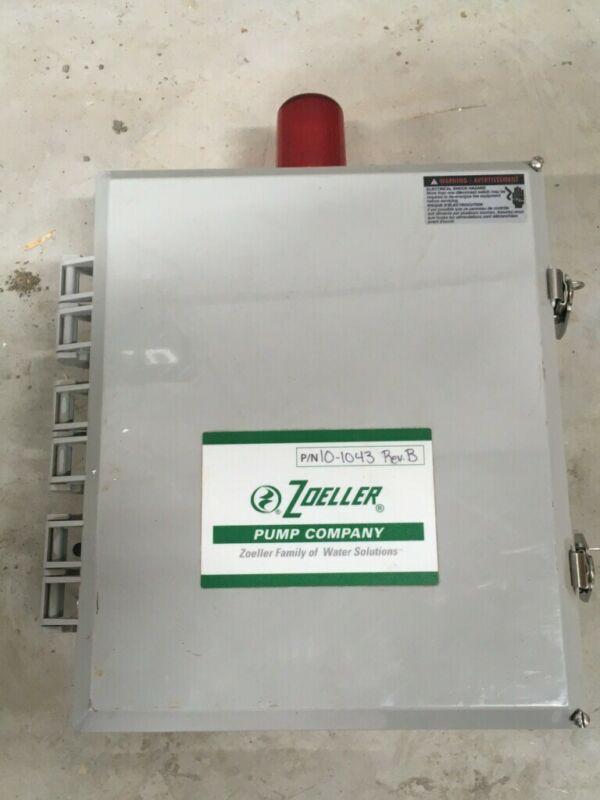 ZOELLER 10-1043 REV-B  Control Panel