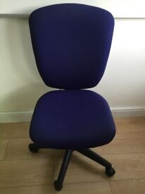 Quality Blue Office Gas Lift Chair **VERY COMFORTABLE**