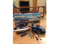 Playmobil Police Jeep & Boat