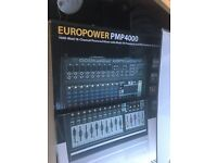 Behringer 1600 watt 16 channel powered mixer and 2 x JBL EON 15inch PA Speakers + Stands Etc