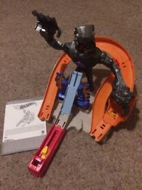 Hot Wheels City – Nitrobot Attack Trackset.