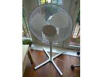 Oscillating Pedestal Fan - Perfect Condition