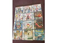 Various Nintendo DS Games x12