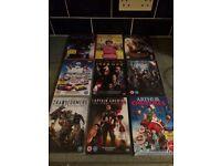 9 brand new DVD's