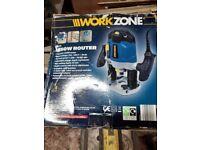 Workzone 1250 watt router