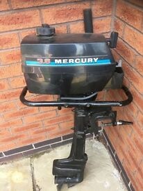 Mercury 3.6 hp outboard engine