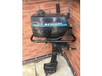 Outboard Engine - Mercury 3.6 hp outboard engine